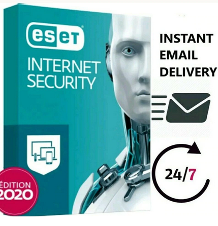 ESET NOD32 Internet Security 200day/1 PC laptop Antivirus